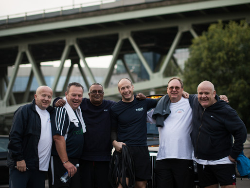 Five fundraising London cabbies to be supported by Be Military Fit as they lose 25 stone