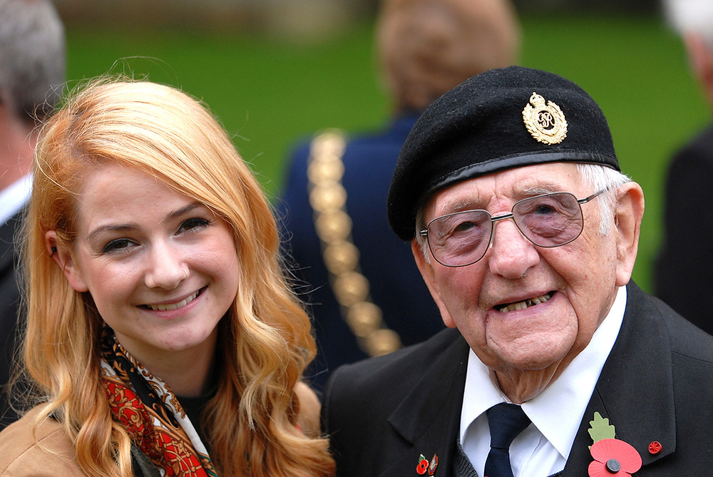 Don Sheppard with his granddaughter, Daisy