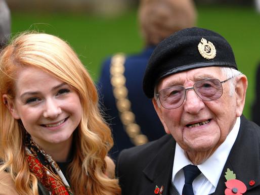 WWII veteran celebrates his 100th birthday in lockdown