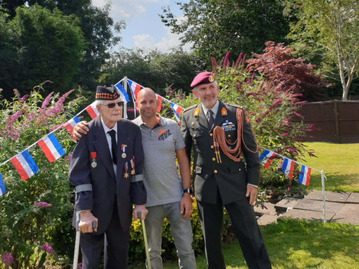 WWII veteran receives Dutch Liberation Medal