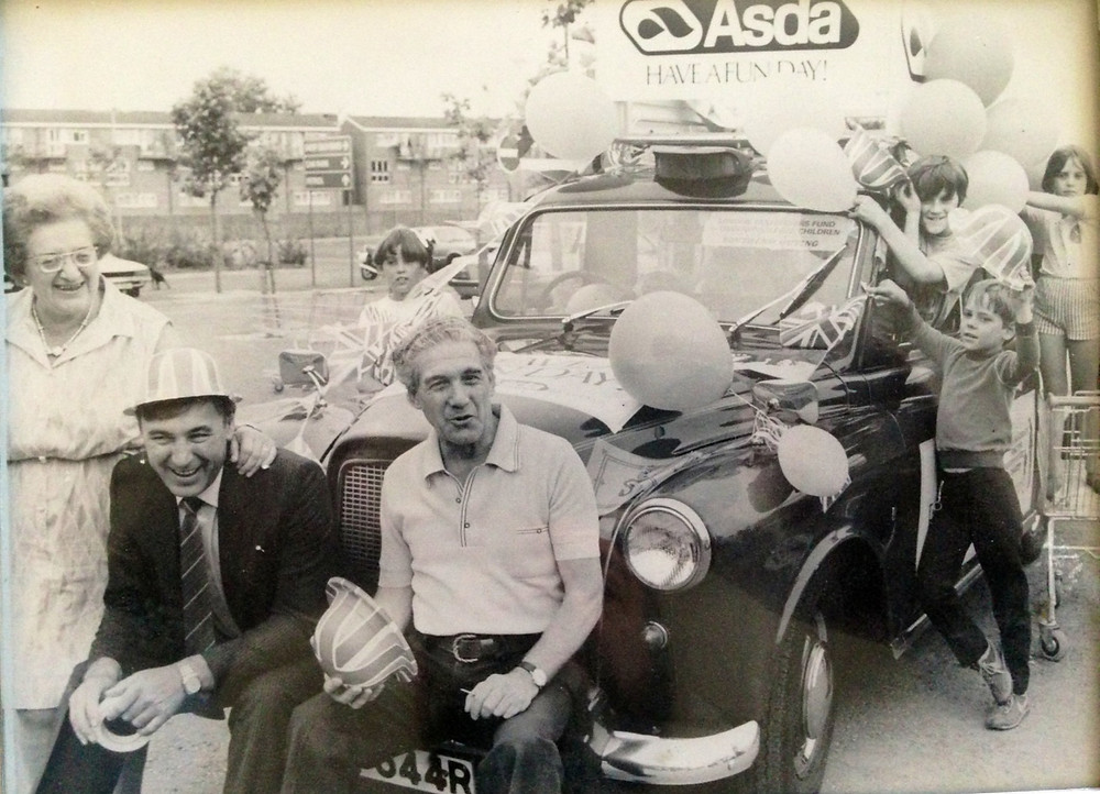 War veteran Jerry Cooper and his taxi