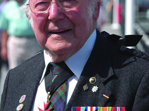 In Memoriam: Farewell to Ted Roberts, 2nd Battalion Glasgow Highlanders