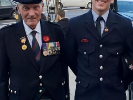 Grandson of veteran to run London Marathon for the Taxi Charity