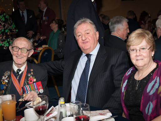 Taxi Charity holds annual veterans Christmas lunch at Millwall FC