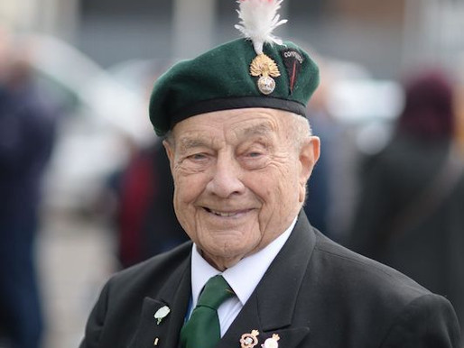 Taxi Charity gathers to say farewell to 100-year-old veteran, George Parsons