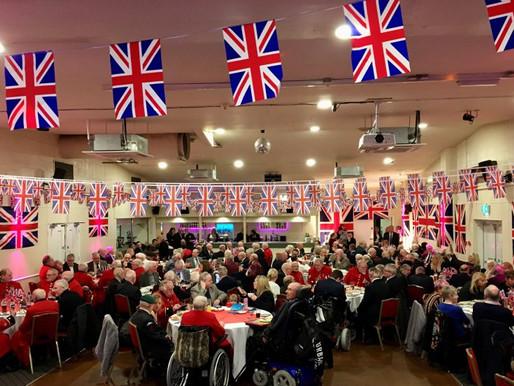 Veterans visit North Cheam Sports and Social Club