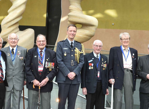 """""""The charity is a lifeline to many of our deserving veterans"""" - Group Captain Mark Heffron"""