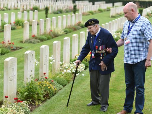 WWII veteran Albert Holmshaw dies, aged 96