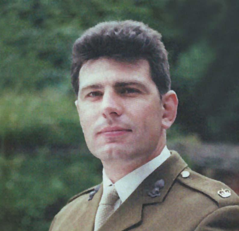 Major Justin van der Pant