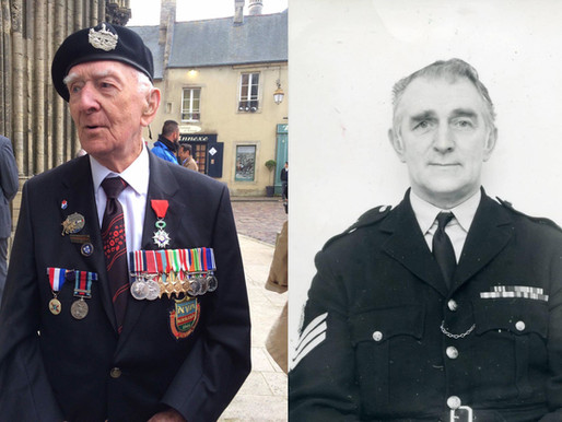 Tribute to 101-year-old veteran, Hector Duff