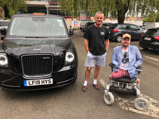 The Taxi Charity supports veterans from all conflicts