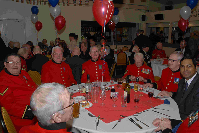 Click here to view all the photos from our veterans lunch on our Flickr page.