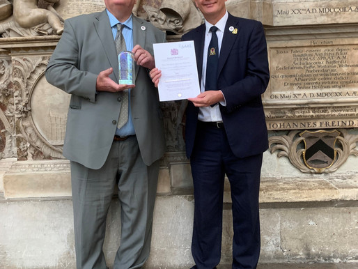 Taxi Charity presented with the Queen's Award for Voluntary Service