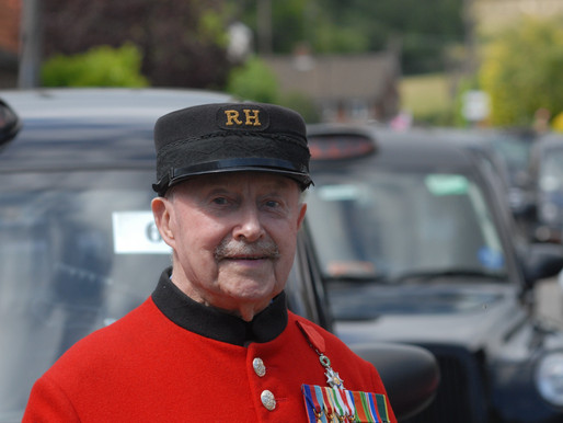 Press Release: Convoy of cabs travels to Worthing with WWII veterans