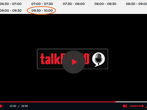 Taxi Charity chairman interviewed on talkRADIO about QAVS and D-Day 77