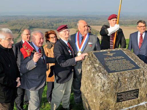 Photos from our recent visit to the The Merville Battery Memorial at Inkpen Common