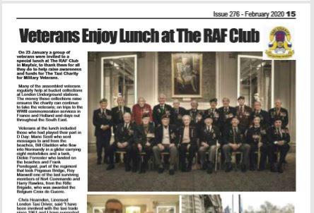 Vets visit HMS Queen Elizabeth, The Badge