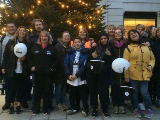 Save Our Black Taxis undertakes charity walk for the Taxi Charity