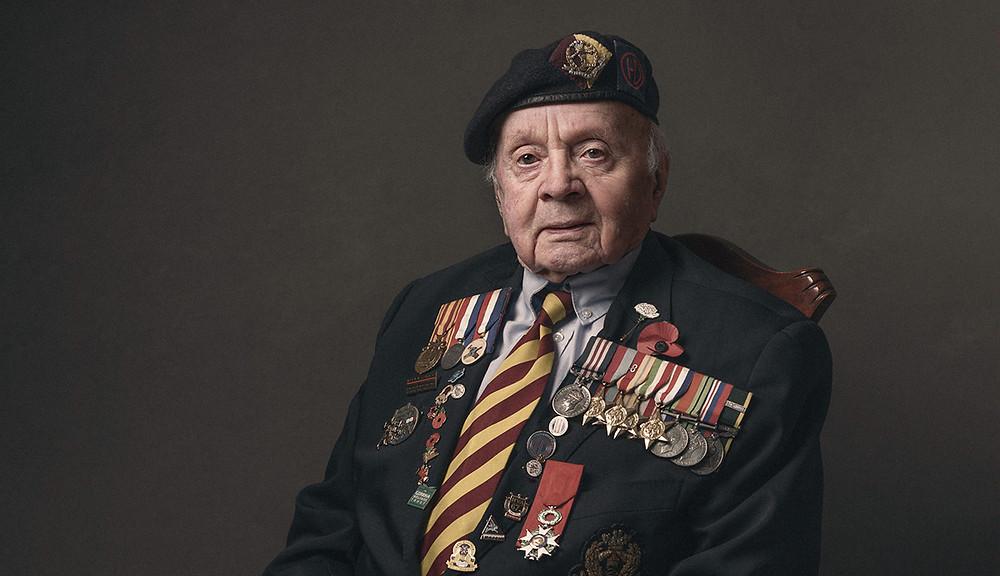 Jeff Haward MM, Middlesex Regiment