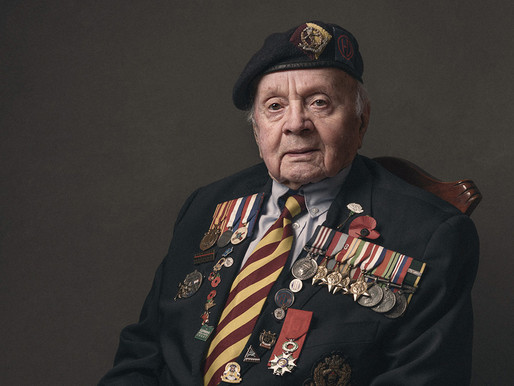 WWII veterans' portraits to appear in exhibition at Soldiers of Oxfordshire Museum