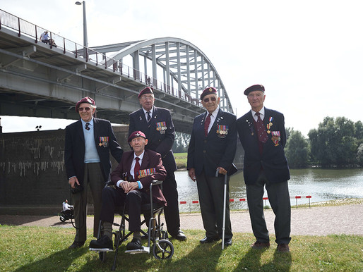 Taxi Charity attends 70th anniversary of the Airborne March