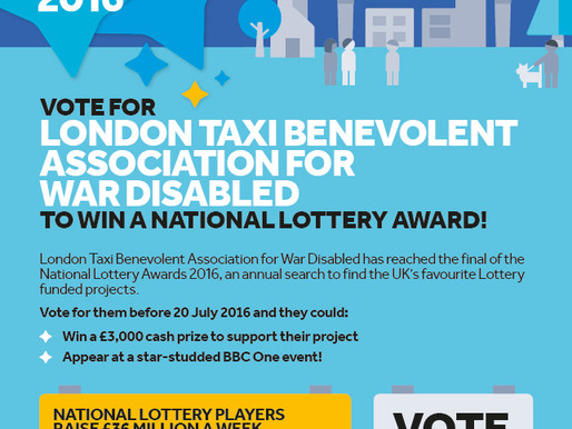 Press Release: London's taxi charity for WWII heroes needs your vote