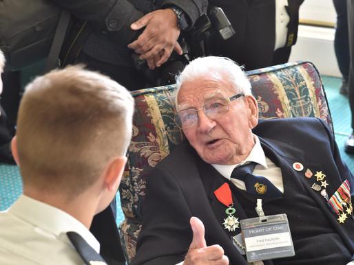 WWII veteran Fred Faulkner dies, aged 99
