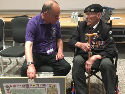Major Ted Hunt and Ian Parsons interviewed on BBC Radio Leicester
