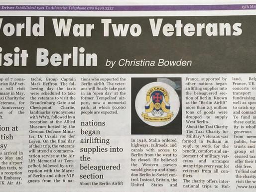 World War Two veterans visit Berlin, The Cab Driver