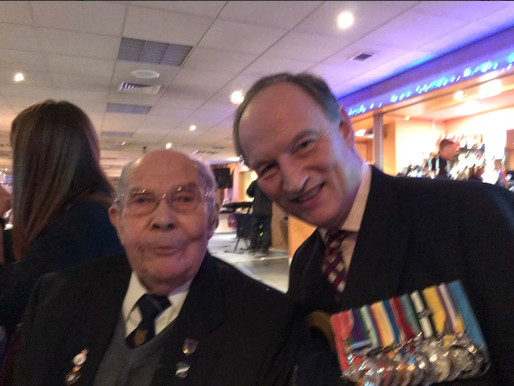Brigadier Alastair Bruce attends Taxi Charity Christmas Lunch