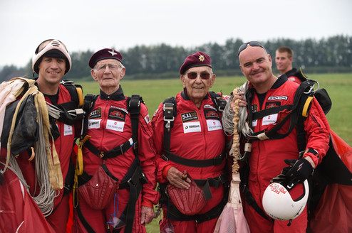Veterans jump for Taxi Charity