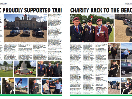 LCDC proudly supported Taxi Charity Back To The Beaches, The Badge