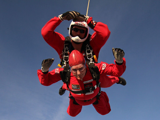 Press Release: Veterans and committee members to skydive for the Taxi Charity