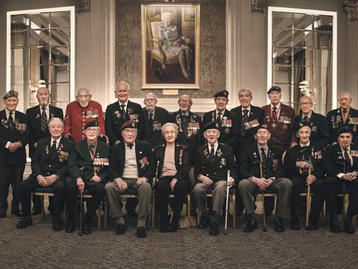 Veterans enjoy lunch at The RAF Club