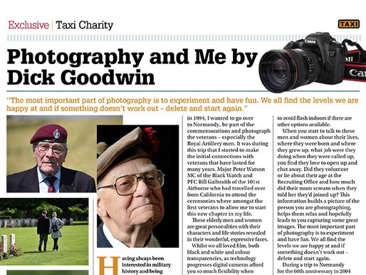 Photography and Me by Dick Goodwin, TAXI