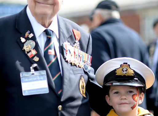 Navy veterans trip to Portsmouth a huge success