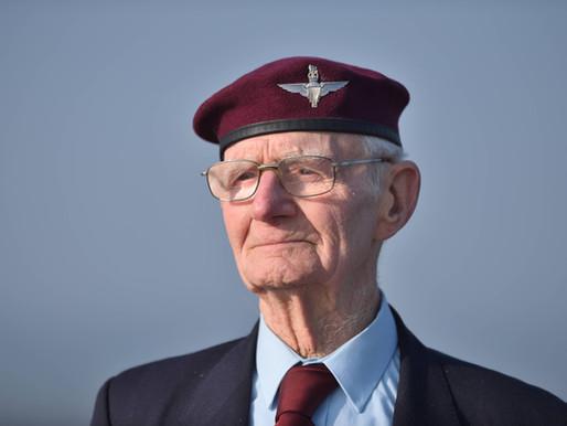 WWII hero Fred Glover dies, aged 94