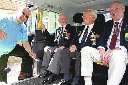 400 veteran servicemen stop off for elevenses at South Holmwood, Dorking and Leatherhead Advertiser