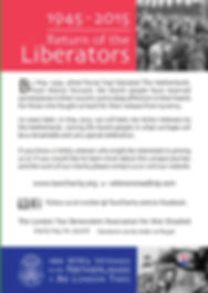 Return of the Liberators flyer