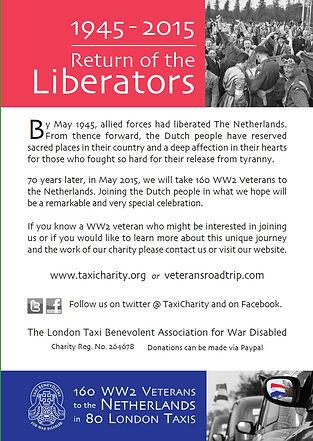 Return of the Liberators flyer