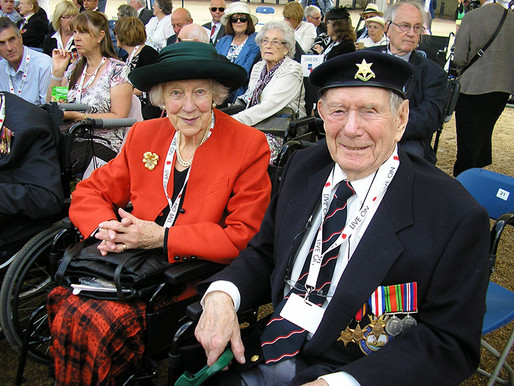 VJ Day - A thank you note to the Taxi Charity from the daughter of a veteran