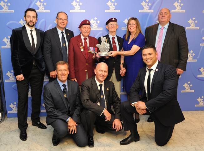 Taxi Charity at National Lottery Awards