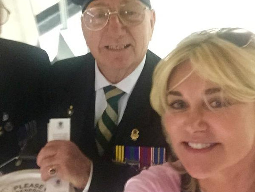 Taxi Charity News: When Anthea Turner met our veterans