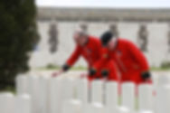 Taxi Charity veterans trip to Ypres