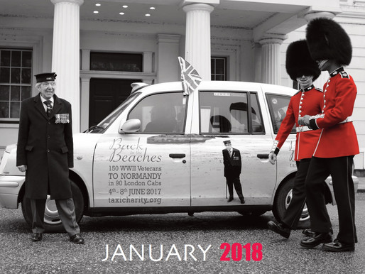 Taxi Charity 2018 calendars now available to buy