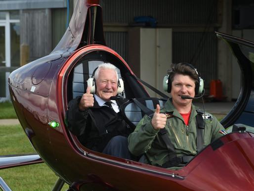 Taxi Charity organises veterans flying day at Damyns Hall Aerodrome