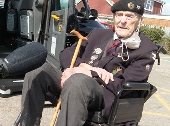 D-Day veteran and former Queen's Bargemaster pays tribute to Prince Philip after his 2nd Covid jab