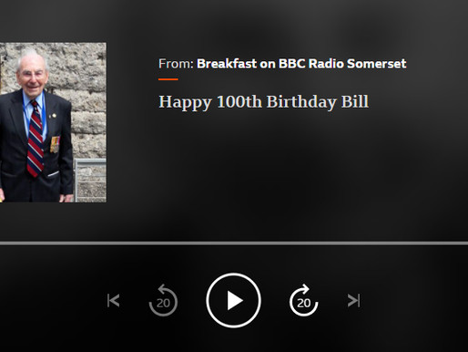 Happy 100th birthday, Bill - BBC Radio Somerset