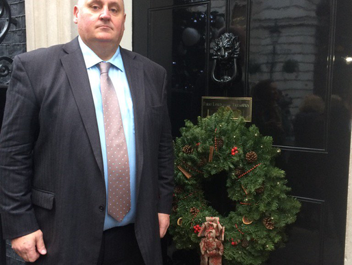 Taxi Charity invited to attend Charity Reception at 10 Downing Street