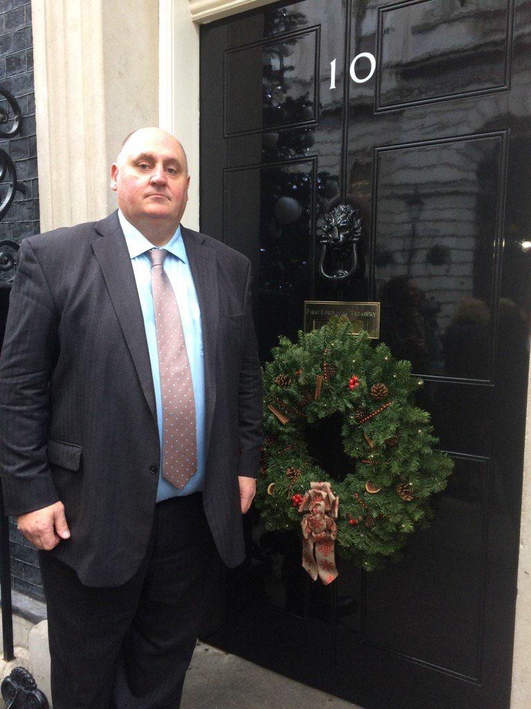 Dick Goodwin at 10 Downing Street